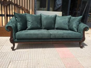 Κατασκευή κλασσικού καναπέ