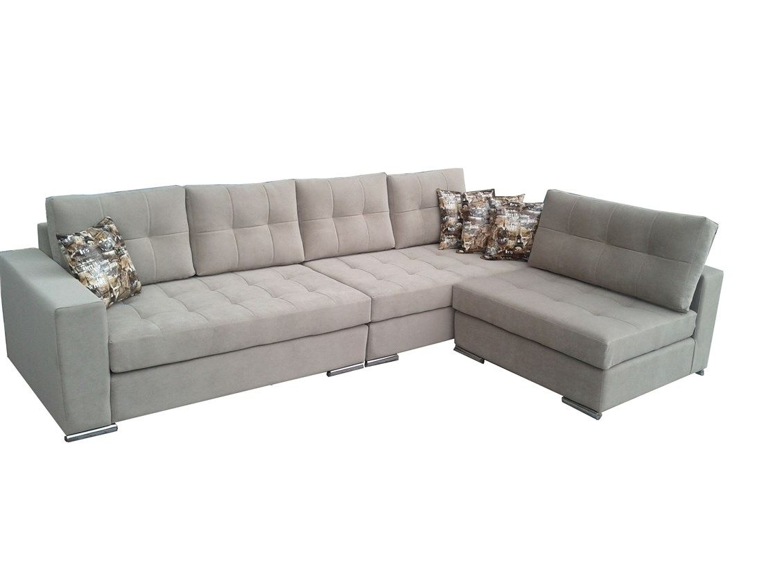 Κατασκευή γωνιακού καναπέ με ανάκλιντρο
