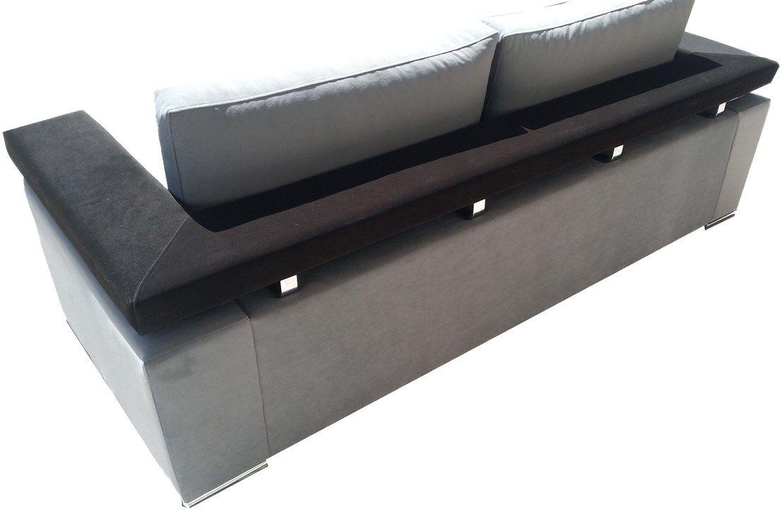 Κατασκευή καναπέ με σχέδιο στην πλάτη