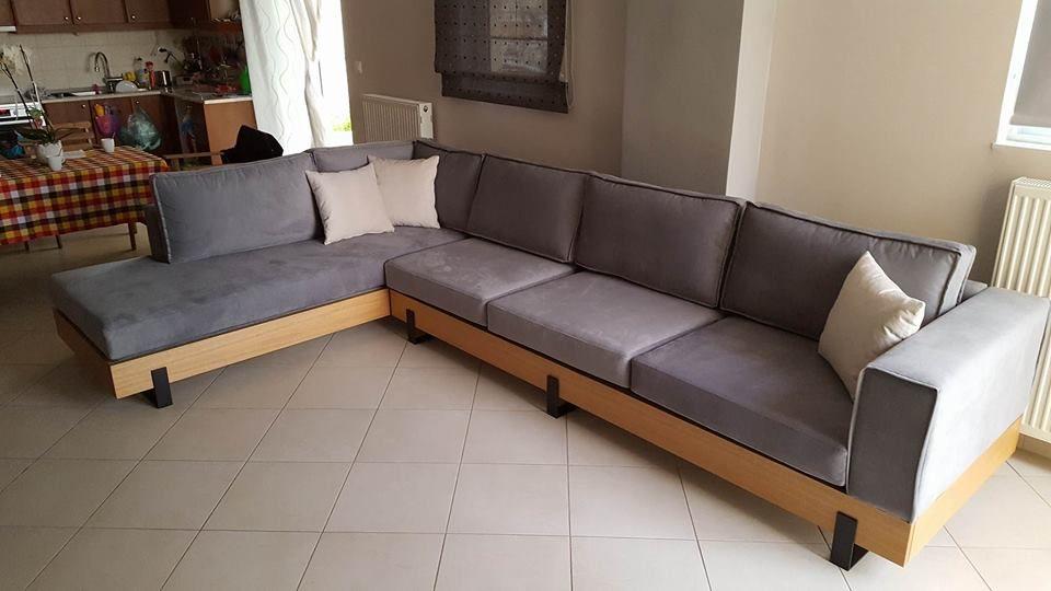 Κατασκευή καθιστικό γωνία