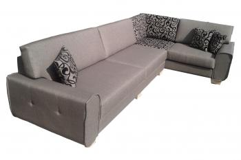 Κατασκευή γωνιακού καναπέ
