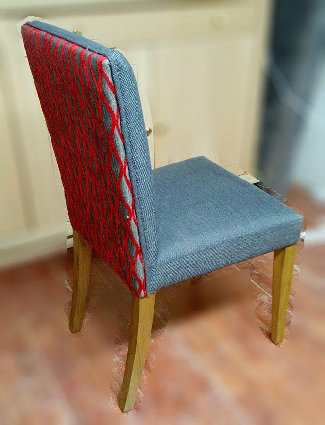 Καρέκλα με πλάτη καπιτονέ